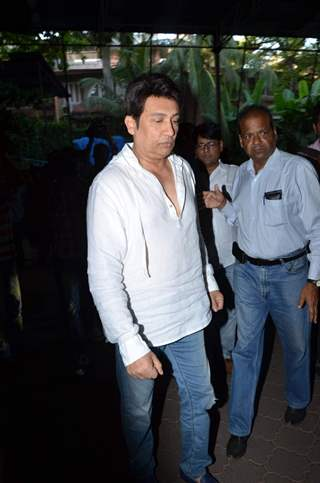 Shekhar Suman at Aadesh Shrivastava's Prayer Meet