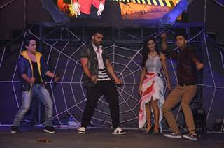 Arjun Kapoor, Faisal and Raghav shake a leg at the Launch of Khatron Ke Khiladi 7