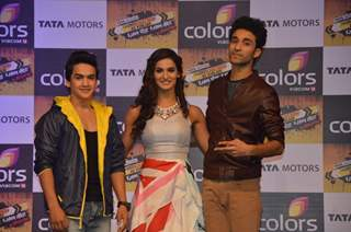Faisal Khan, Mukti Mohan and Raghav Juyal at the Launch of Khatron Ke Khiladi 7