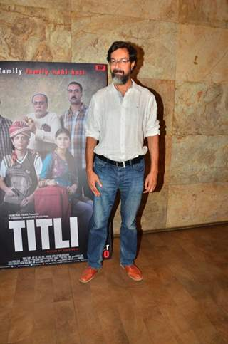 Rajat Kapoor at the Special Screening of Titli