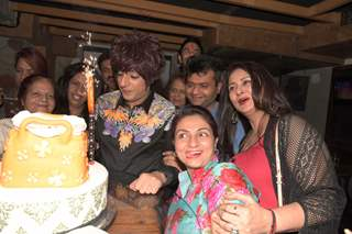 Cake Cutting of Rohit Verma's Birthday Bash