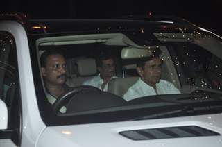 Abbas - Mustan at Big B's Diwali Bash