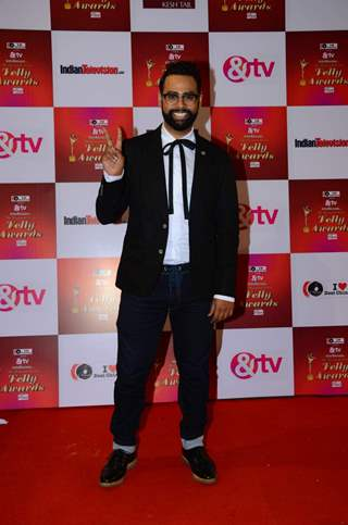 VJ Andy at Indian Telly Awards