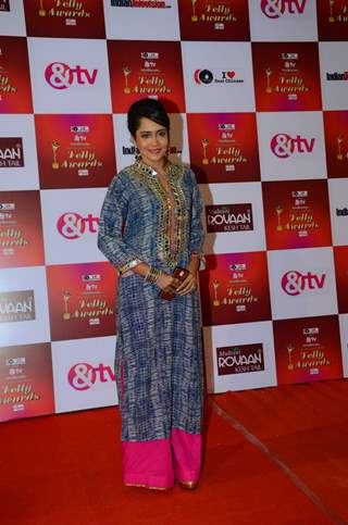 Aasiya Kazi at Indian Telly Awards