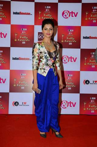 Rubina Dilaik at Indian Telly Awards