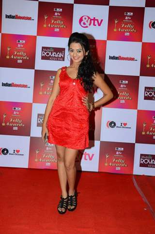 Helly Shah at Indian Telly Awards