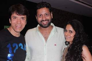Sooraj Thapar and Chhavi Mittal at at Bikramjeet Kanwarpal Mother's Birthday