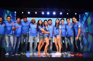 TV Celebs at Launch of Colors 'Box Cricket League'