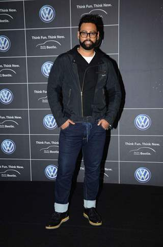 VJ Andy at Volkswagen Car Launch