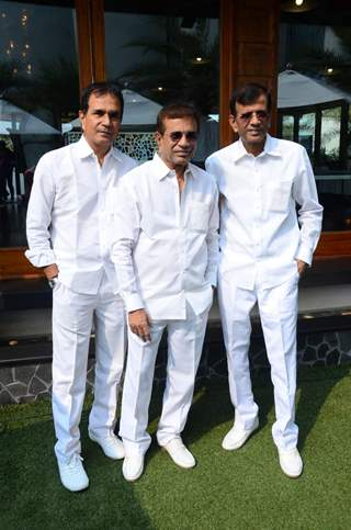 Abbas- Mustan- Hussain Burmawalla at Joe Rajan's Christmas Bash