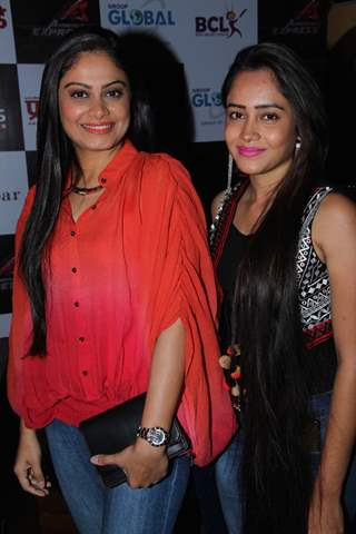 Toral Rasputra and Aasiya Kazi at Launch of BCL's Ahmedabad Express Team