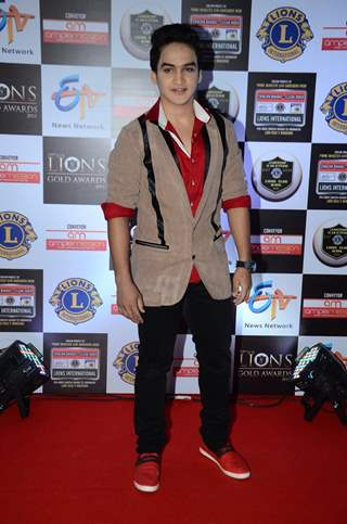 Faisal I Khan at Lion Gold Awards