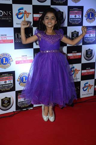Spandan Chaturvedi at Lion Gold Awards
