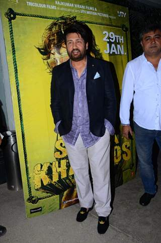 Shekhar Suman at Special Screening of 'Saala Khadoos'