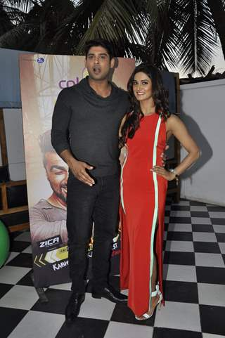 Siddharth Shukla and Mukti Mohan at Press Meet of Khatron Ke Khiladi 7