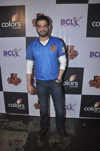 Karan Patel at Press Meet of 'Chandigarh Cubs' Team BCL