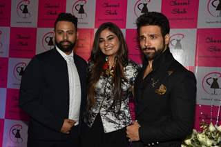 Rithvik Dhanjani and VJ Andy at Charmi Shah's Fashion Show