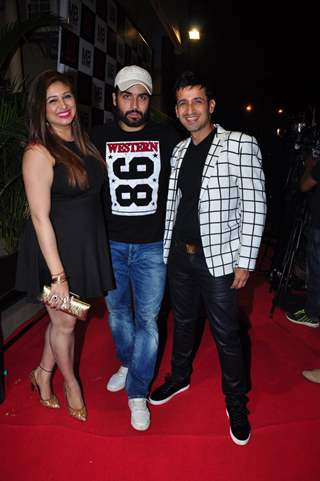 Vivian and Vahbbiz Dsena at Meet Bros Success Bash