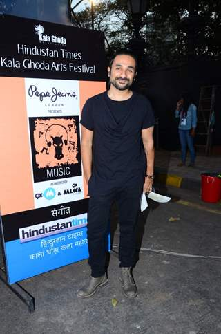 Vir Das at Pepe Jeans Music Fest at Kala Ghoda Arts Festival 2016