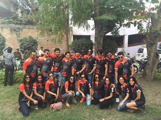 Team Ahmedabad Express Visits Indore City