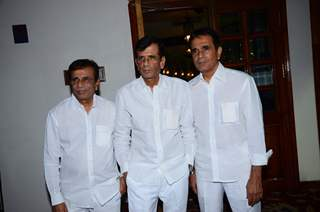 Filmakers Mastaan, Hussain and Abbas Burmawalla at Anu Malik's Felicitation Ceremony