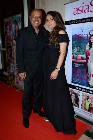 Naved Jafferey with Wife at Asia Spa Awards