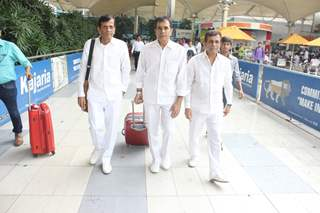 Trio Abbas- Mustan- Hussain Snapped at Airport