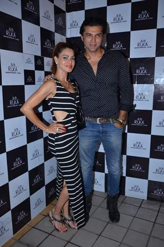 Chetan Hansraj with Lavania Periera Snapped at RUKA