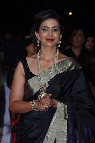 Sonali Kulkarni at Zee Marathi Event