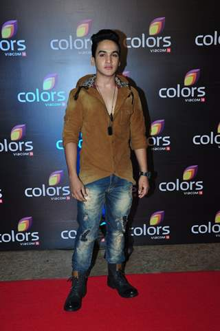 Faisal I Khan at Colors TV's Red Carpet Event