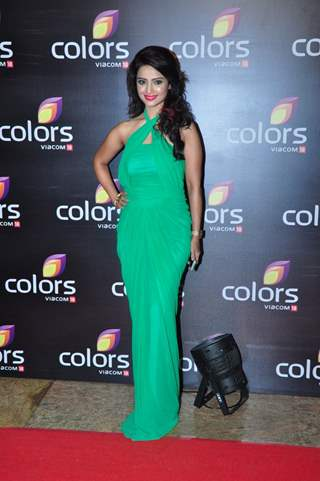 Adaa Khan at Colors TV's Red Carpet Event