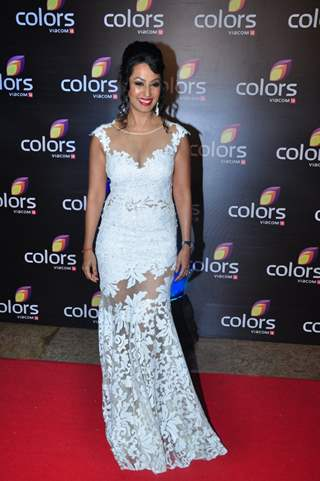 Kashmira Shah at Colors TV's Red Carpet Event