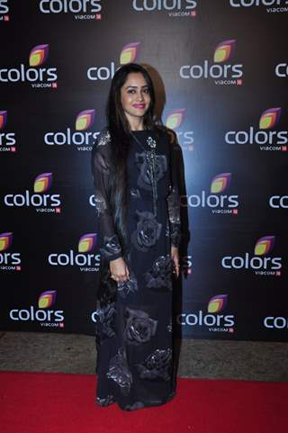 Asiya Kazi at Colors TV's Red Carpet Event