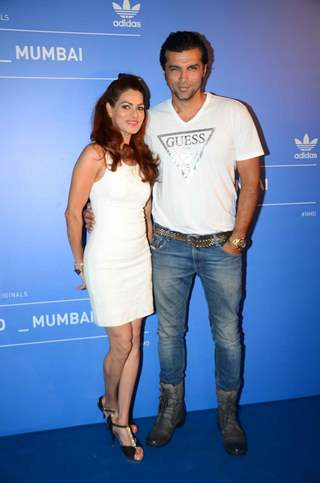 Chetan Hansraj at Adidas Launch