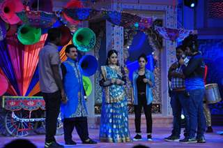 Celebs at SAB TV Holi Celebrations