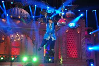 Dilip Joshi performs at SAB TV Holi Celebrations