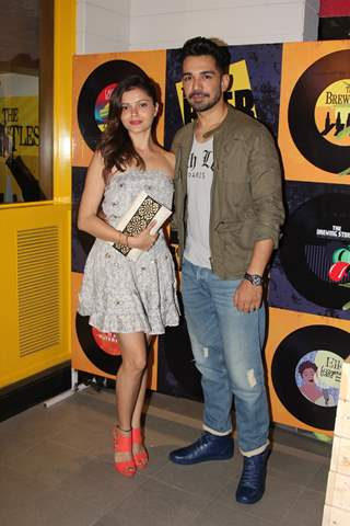 Rubina Dilaik and Abhinav A Shukla at Beer Cafe Launch