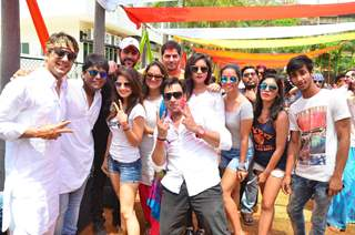 Celebs at Meet Bros Holi Celebrations