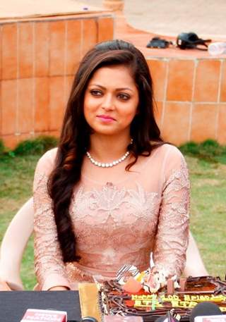Drashti at Ek Tha Raja Ek Thi Rani's 100 Epi celebration
