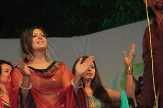 Drashti Dhami at 2015's Navratri event in Bhavnagar