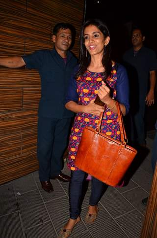 Sonali Kulkarni attends Party at Aamir Khan's Residence