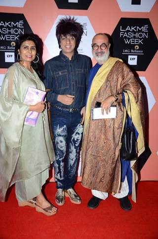 Rohhit Verma and Kanwaljeet Singh at Lakme Fashion Show 2016