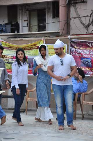 Pooja Gor and Aishwarya Sakhuja at Prayer Meet of 'Pratyusha Banerjee'