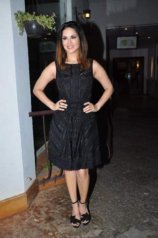 Sunny Leone at Trailer Launch of the film 'One Night Stand'