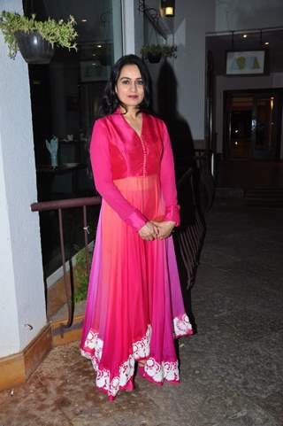 Padmini Kolhapure at Trailer Launch of the film 'One Night Stand'