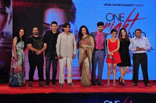Sunny Leone and Tanuj Virwani at Launch of the film 'One Night Stand'