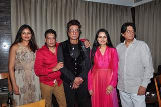Shakti Kapoor and Padmini Kolhapure at Trailer Launch of the film 'One Night Stand'