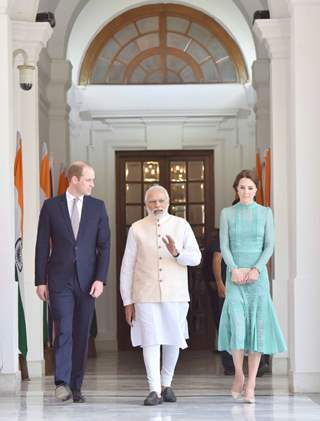 Prince William and Kate meets Prime Minister Narendra Modi