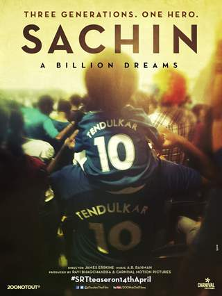 2nd Poster of Sachin: A Billion Dreams