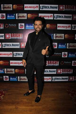 Rithvik Dhanjani and Asha Negi At Dada Saheb Phalke Awards